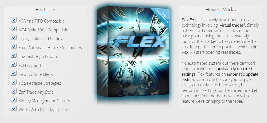 Forex Flex EA Review - Forex Flex EA Is The Most Advanced And Intelligent FX Expert Advisor And Profitable Forex Trading Robot For Metatrader 4 (MT4) Including Correlated Hedge EA