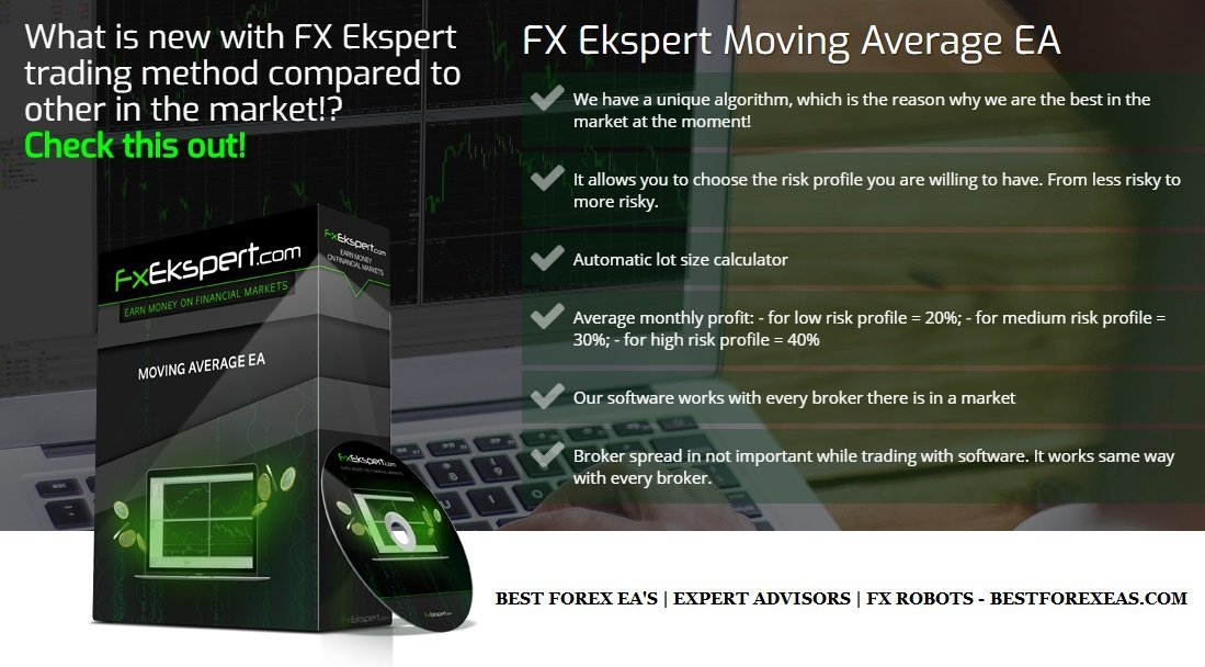 FX Ekspert Moving Average EA Review - FX Ekspert Moving Average EA Robot Is A Profitable Forex Trading Robot And Reliable FX Expert Advisor