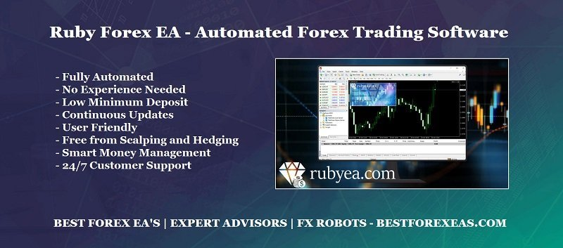 Ruby Forex EA Review - Ruby Forex Robot Is A Powerful Forex Trading Robot For Stable Profits And Reliable FX Expert Advisor For Metatrader 4 (MT4) Platform